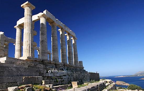 Temple of Poseidon in Sounion